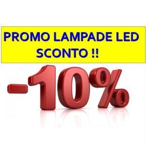 Sconto-10% Lampade LED (Ritiro in Negozio)